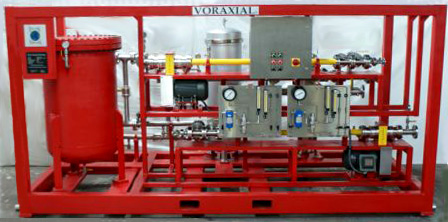 produced water separator Latin American buys Voraxial