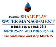 Marcellus Shale Clean Water 2013