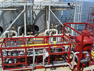 Voraxial compact turnkey solution installed on an offshore FPSO